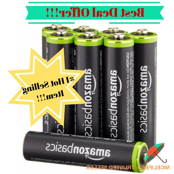aaa rechargeable batteries 8 pack pre charged