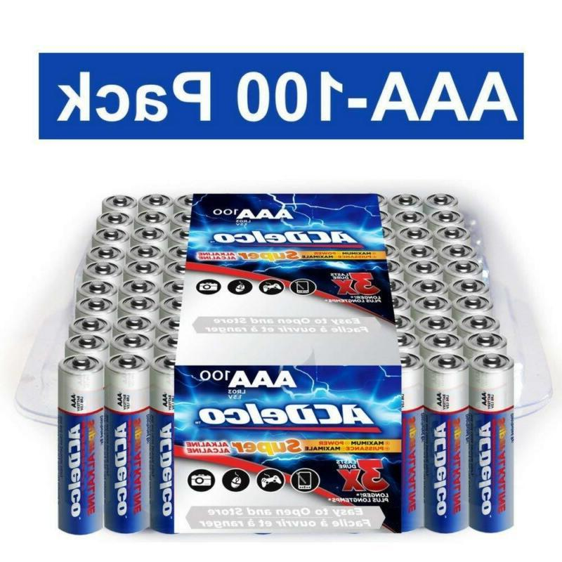 Acdelco Super Batteries Recloseable Package, 100