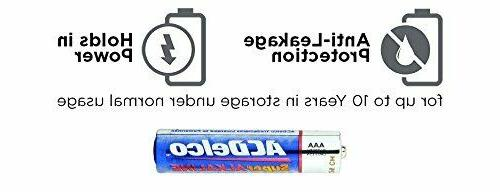 Super AAA Batteries High Performace Bulk Triple ACDelco 1.5V