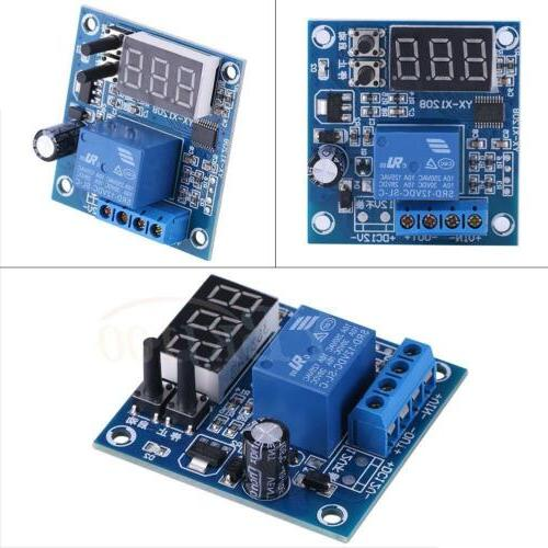 Auto Battery Voltage Cut off Turn Switch Protect Board