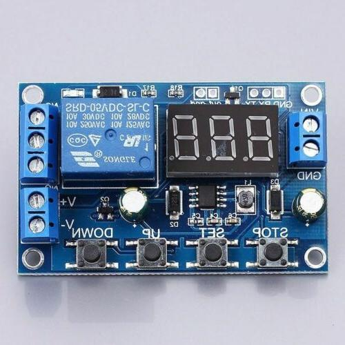 Battery Charger Discharger Under/Over Voltage Protection With LED