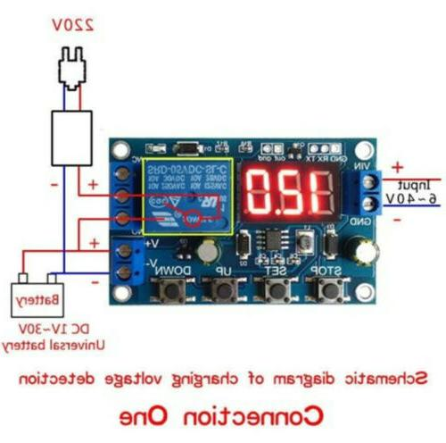Battery Charger Under/Over Voltage With