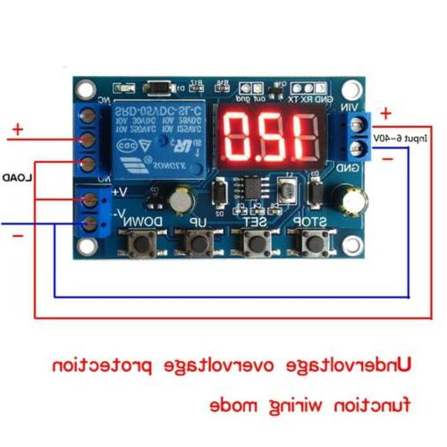 Battery Charge Under/Over DC 6-40V TW