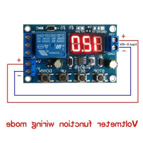 battery charge discharge board under over voltage