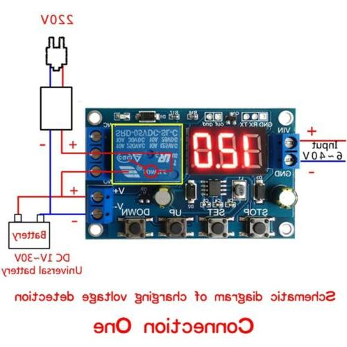 Battery Discharge Board Under/Over Protection DC