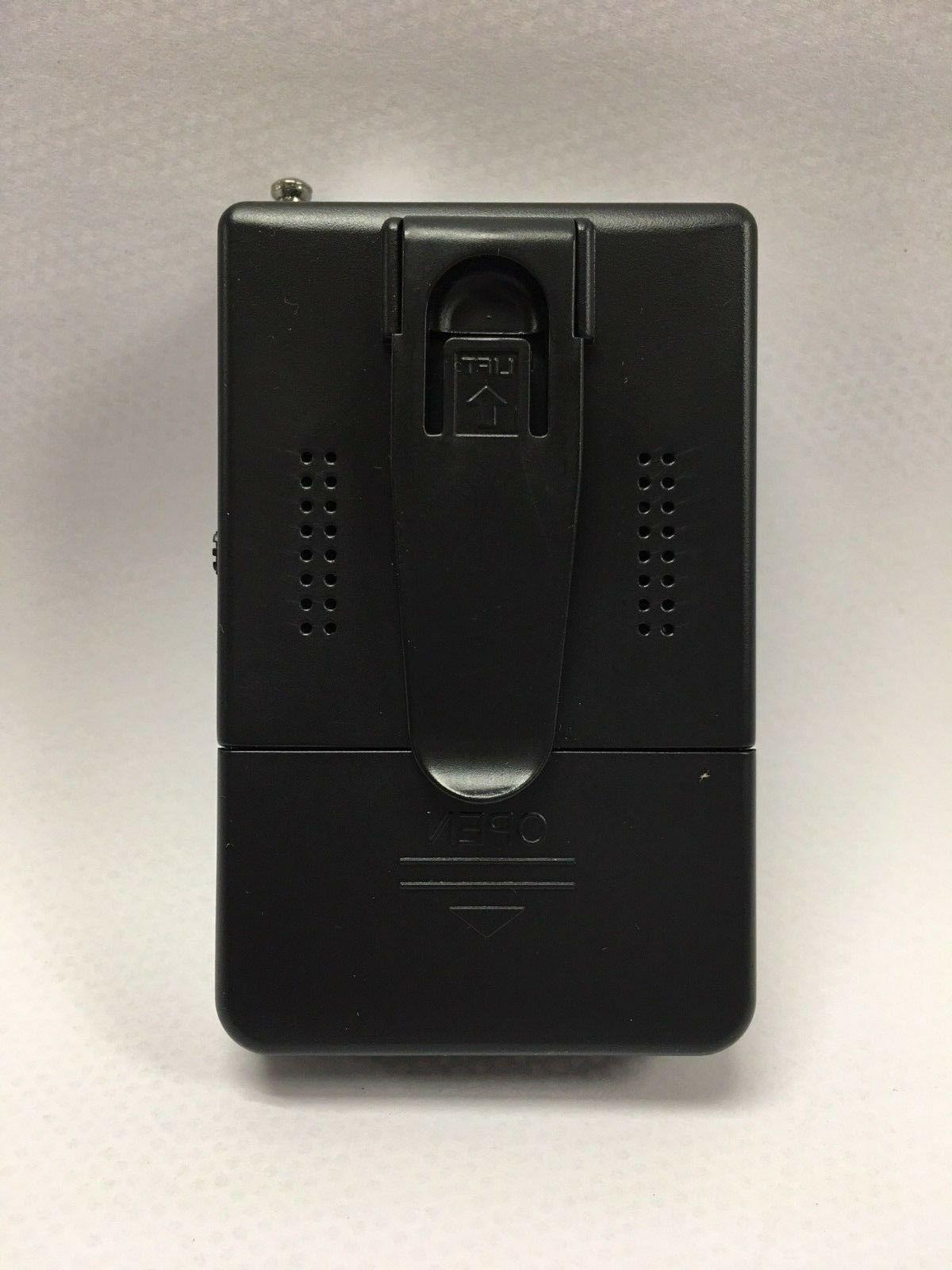 Battery Operated AM FM Portable Pocket