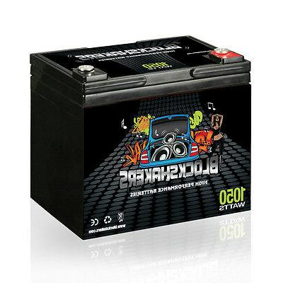 Black 12V 35AH 1050 Watts M6/T6 High Current Battery replace