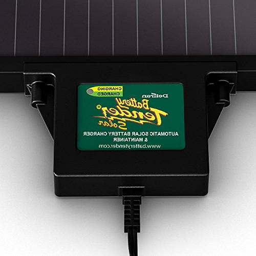 Battery Solar Charger and with 3-step Microprocessor