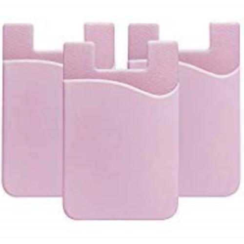 compatible phone card holder wallet silicone adhesive
