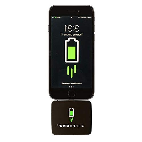 KICKCHARGE - Mobile Battery On Great for Use, Travel, Events Camping