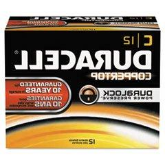 Duracell MN1400 CopperTop Alkaline Batteries, C, 72/CT