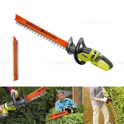 cordless hedge trimmer 22 in 18v lithium
