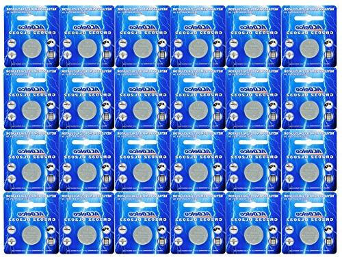 cr2032 lithium button cell batteries