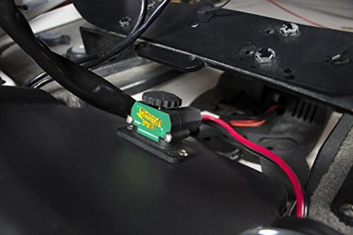 Battery DC Power an Onboard Connector Perfect Battery to Trolling Electronics or DC