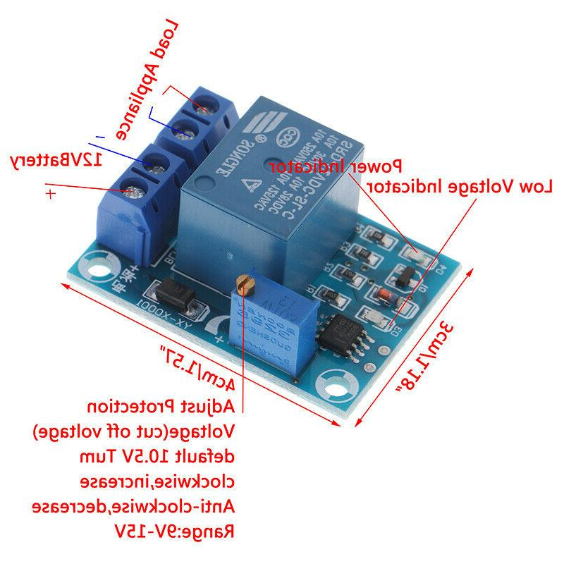 DC12V Low Automatic Cut off Protection Mod
