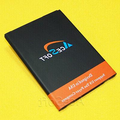 high capacity extended slim replacement 4370mah battery