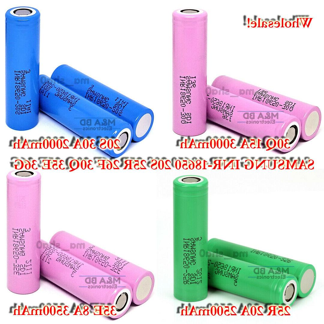 18650 2000 3500mah 10a 30a rechargeable mods