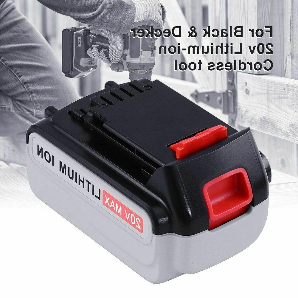 Lithium Ion Replace for Black Battery