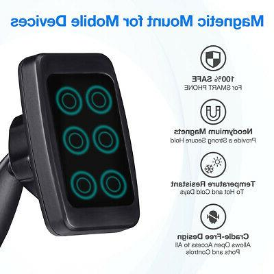 Universal Phone Holder Magnetic Mount Stand For Phone GPS