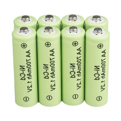 Lot 1.2v AA Batteries NiCd Garden Solar LED
