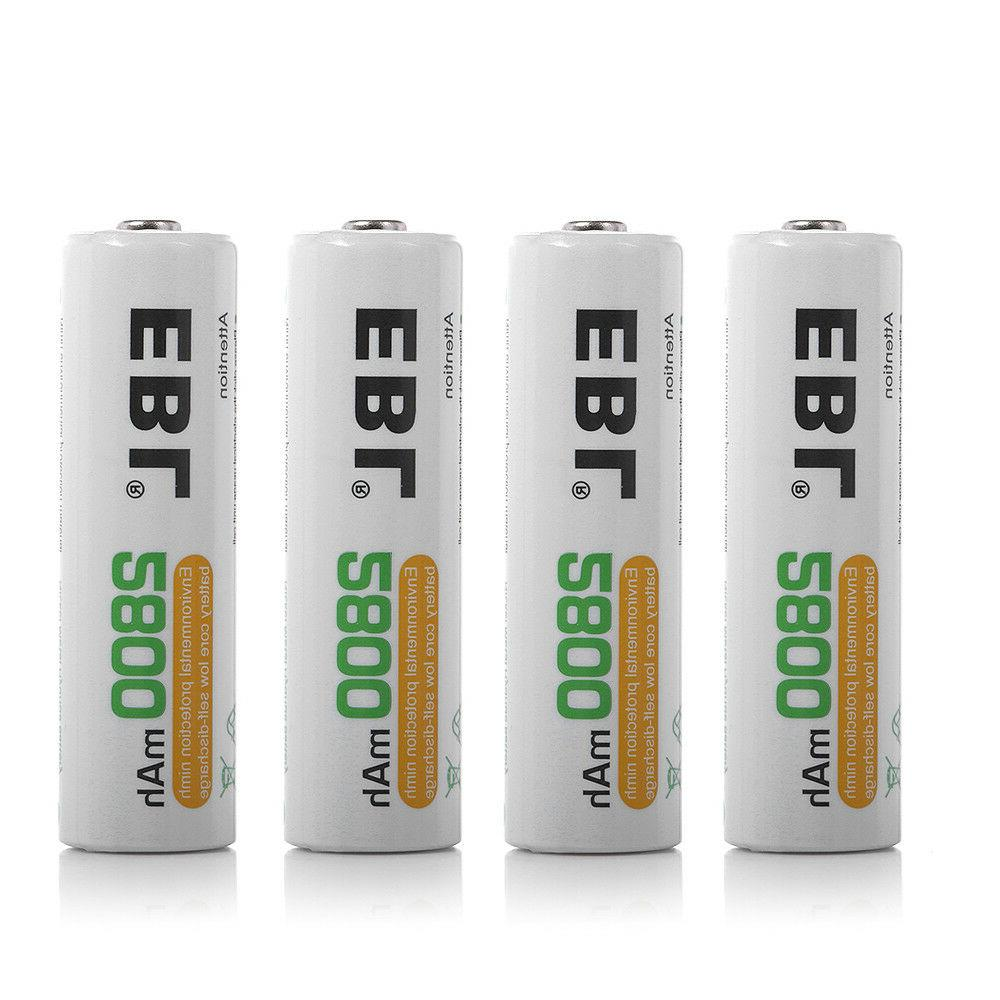 Lot 2800mAh Rechargeable Battery For