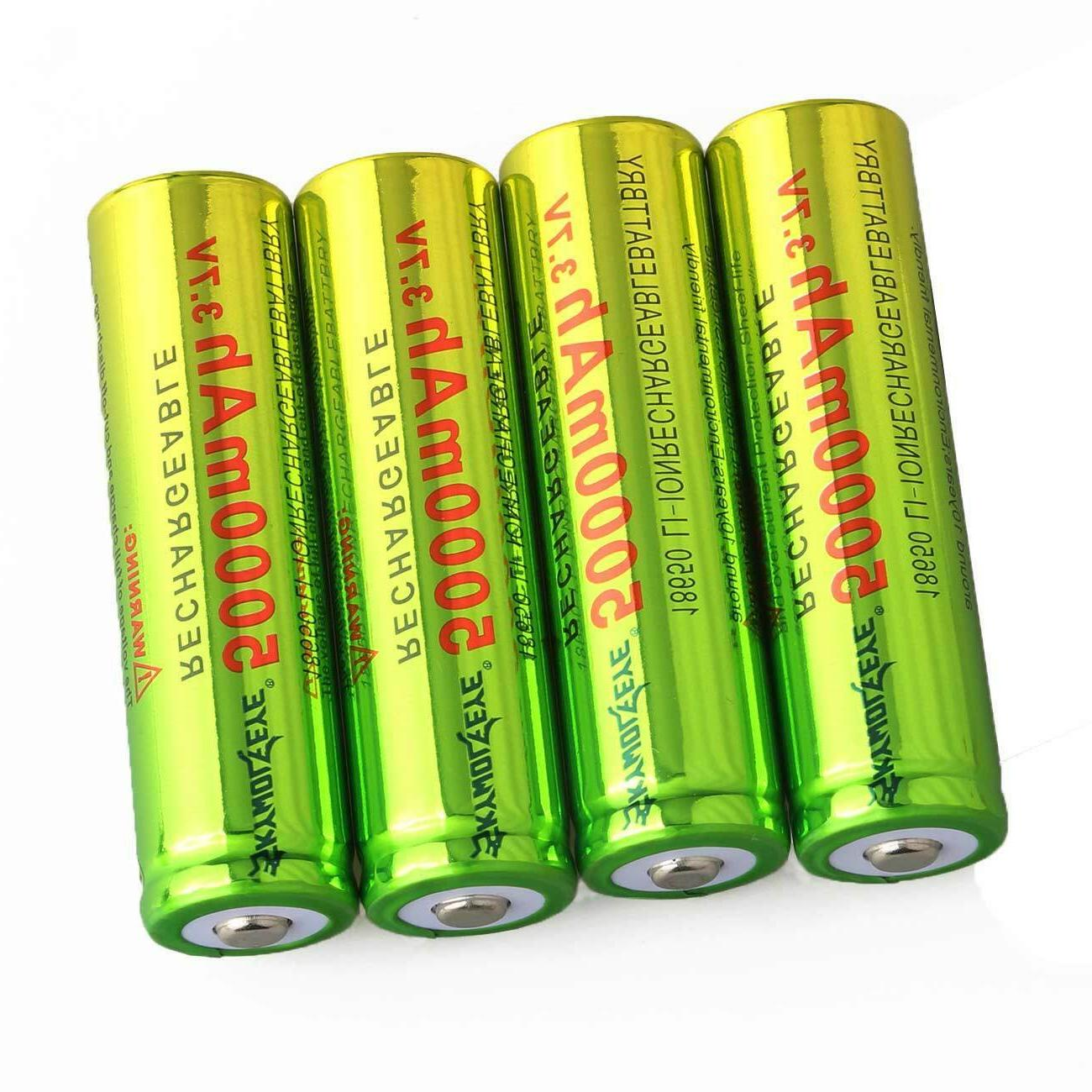 Lot 18650 5000mAh Rechargeable