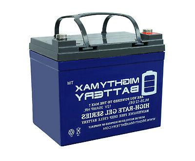 mighty max 12v 35ah gel battery replacement