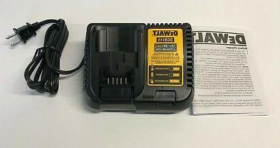 new dcb115 fast battery charger 12 volt