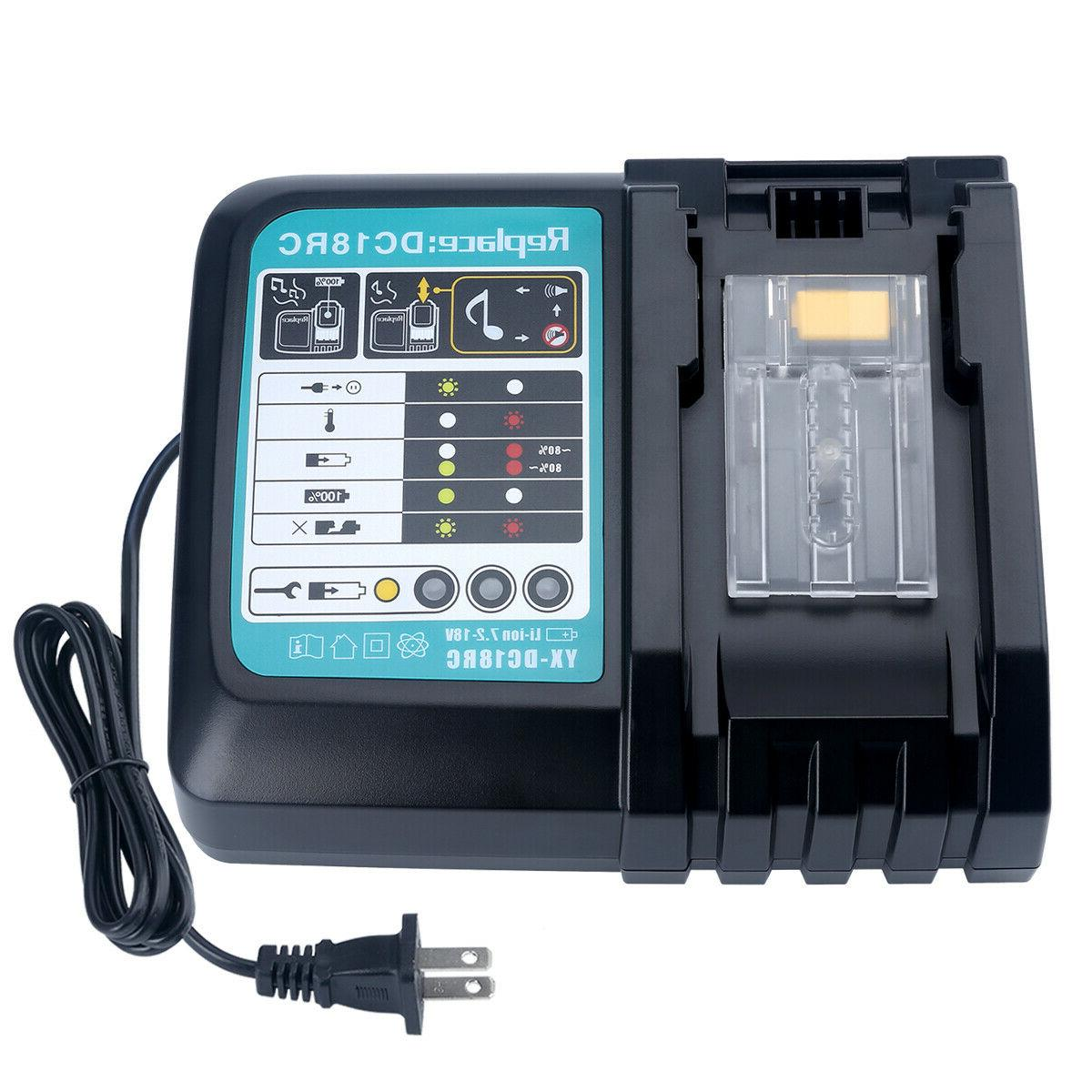 new lithium ion battery charger for makita