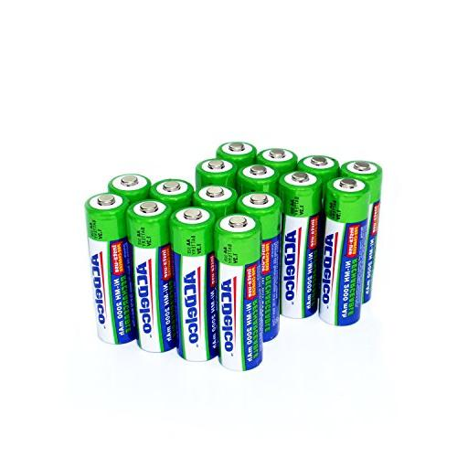 ni mh precharged aa rechargeable