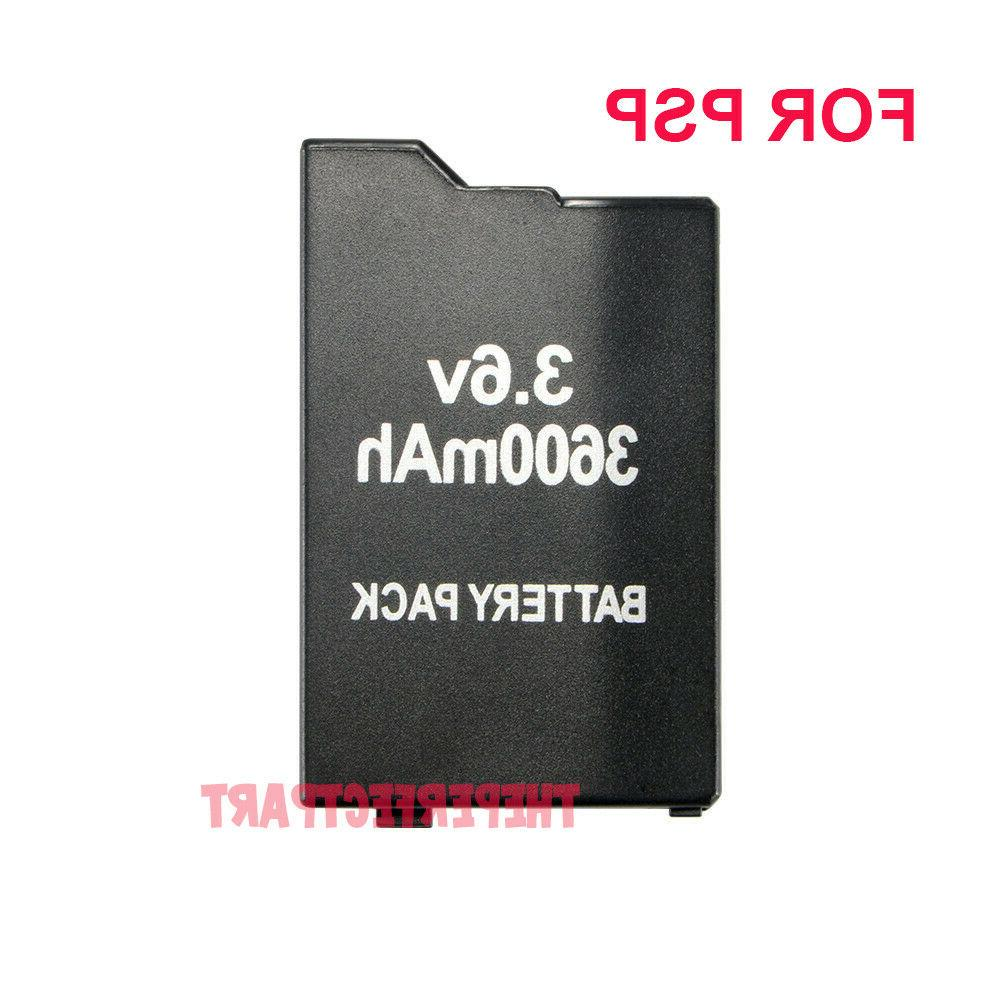3600mah rechargeable replacement battery for sony psp