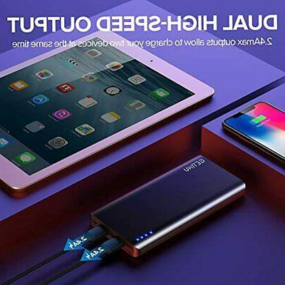 Power Bank, Portable 4.8A High-Speed Pack