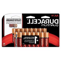 Duracell - Quantum AA Alkaline Batteries - long lasting, all