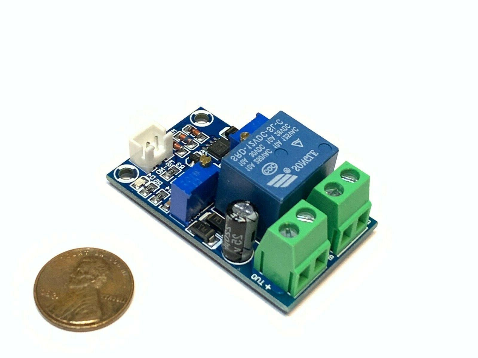 relay module 12v battery low voltage cut