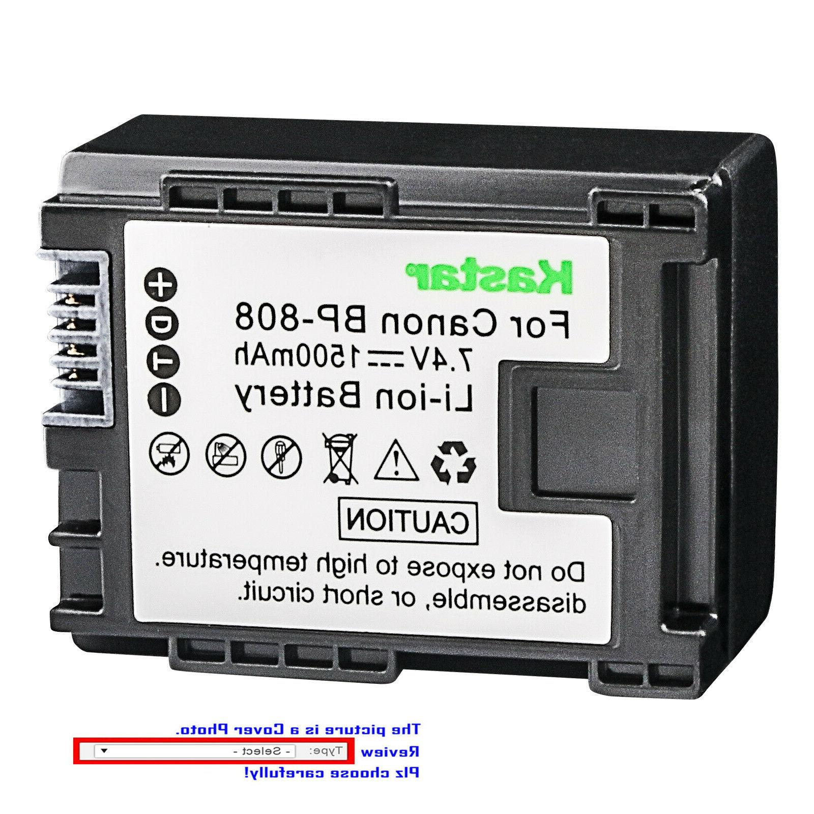Kastar Replacement Battery for Canon LP-E8 LPE8 Battery