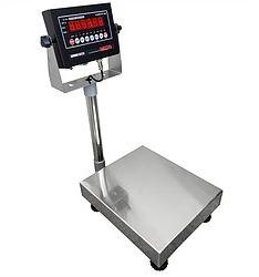 100 LBS x 0.02 LBS Optima Scale OP-915 NTEP IP 65 Mild Steel