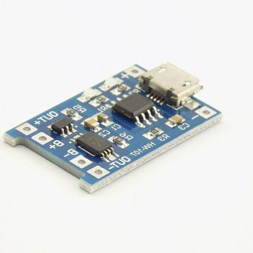 TP4056 Micro USB 18650 Lithium Battery Charger Board Module