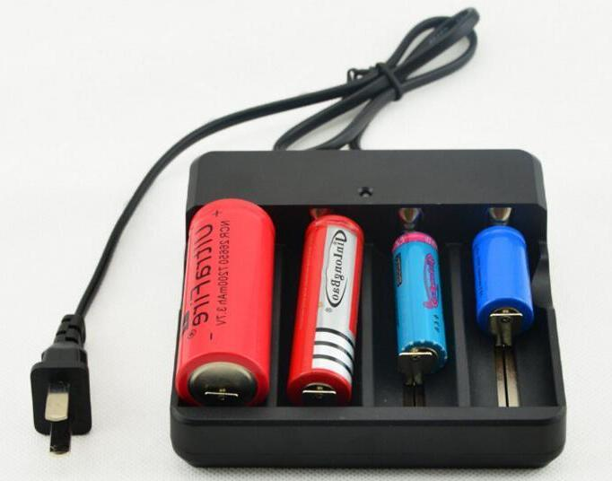 USA 5800mAh Rechargeable Battery 3.7V Li-ion Batteries Intelligent Charger