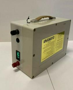 Lithium 12v 100Ah LiFePO4 Deep Cycle Battery BMS Home Charge