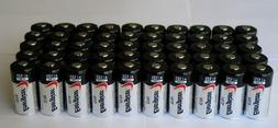 50 pcs Energizer Lithium CR123A 3V Lithium Battery - for cam