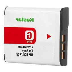 Kastar Lithium Ion Camera Battery for Sony G Type NPBG1 NP-B