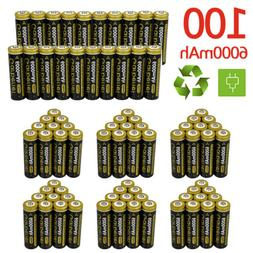 Lot Garberiel 18650 Battery 6000mAh 3.7V Li-ion Rechargeable