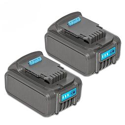 LiBatter 2Pack 20V MAX 5.0Ah Rechargeable Lithium Ion Batter