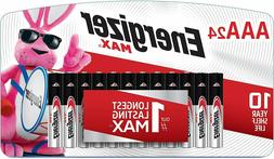 ENERGIZER MAX AAA BATTERIES 24 PACK 12/2030 BRAND NEW