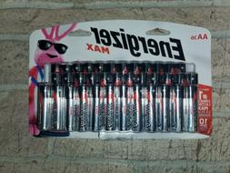 Energizer Max Alkaline AA Batteries Double A, 36 Count Brand