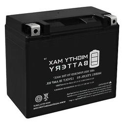 Mighty Max YTX20L-BS Battery Replacement for PowerStar H-D B
