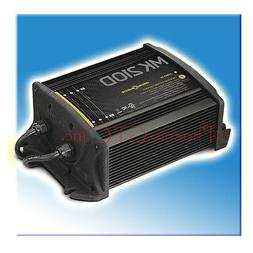MINN KOTA MK-210D 2 BANK X 5 AMPS ON-BOARD MARINE BATTERY CH