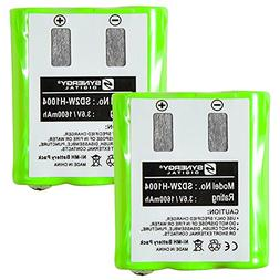 Motorola KEBT-650 2-Way Radio Battery Combo-Pack Includes: 2