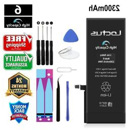 2200mAh High Capacity Replacement Battery iPhone 6 with Tool