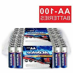 new aa super alkaline batteries in recloseable